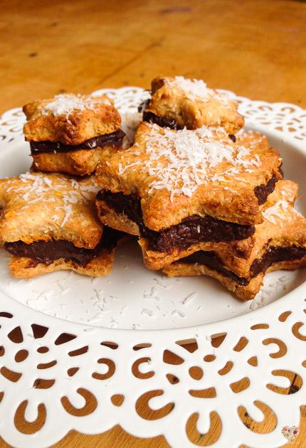 alfajores de nutella receta sin gluten blog