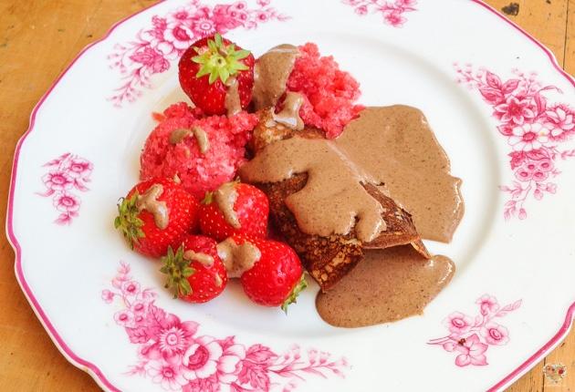 crepes panqueques veganos comidas naturales