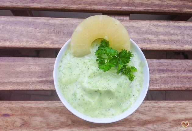 helado de anana leche de coco y menta recetas blog nutricion