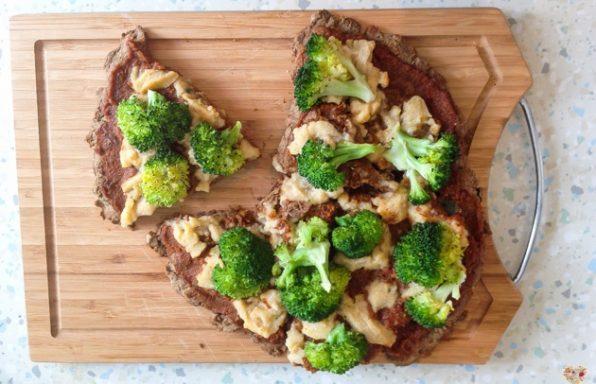 pizza de harina de trigo sarraceno y harina de arroz receta blog
