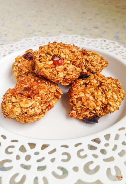 galletas veganas de avena y manzana recetas saludables