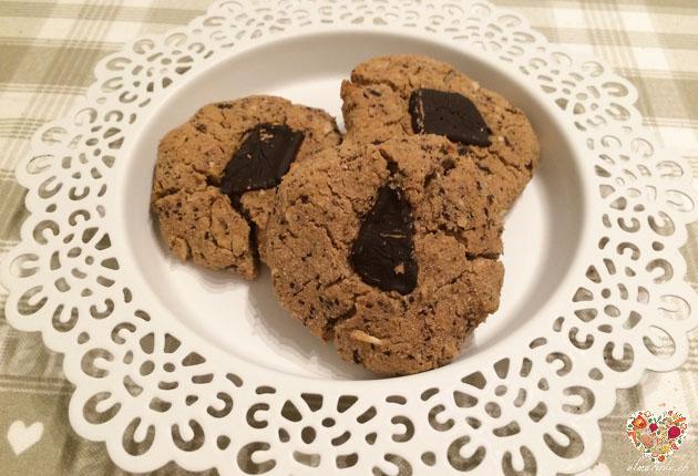galletas veganas con chocolate