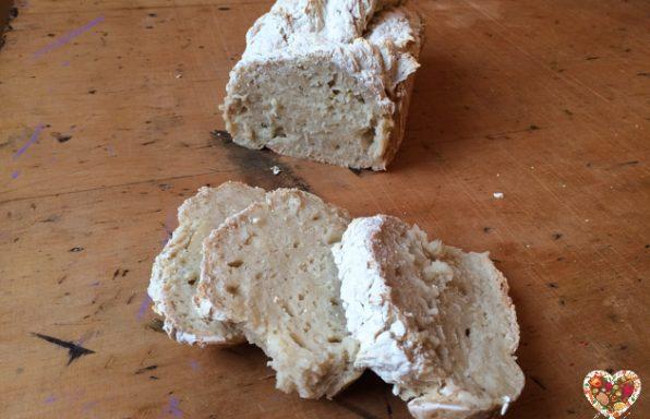 Pan de almidon de maiz y harina de arroz