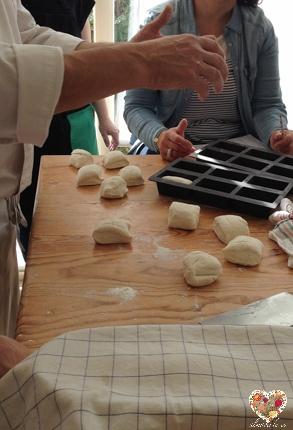 Clase del taller sin gluten en Madrid