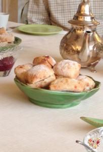 Repostería y panecillos saborizados en el taller sin gluten
