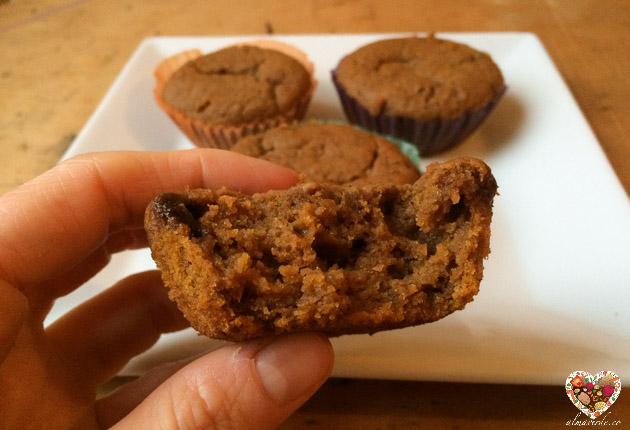 Cupcakes veganos de calabaza sin gluten