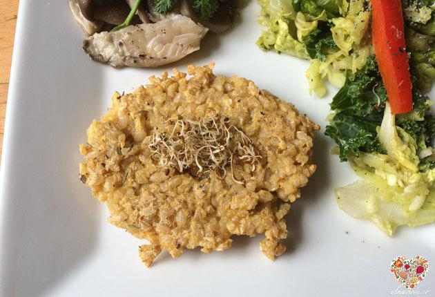 Como preparar croquetas de arroz veganas y sin gluten
