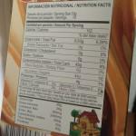Información nutricional en etiquetas de alimentos light y diet