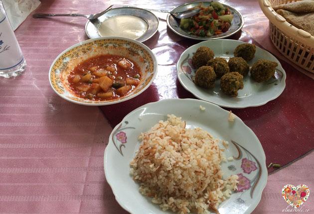 Comida vegana en egipto