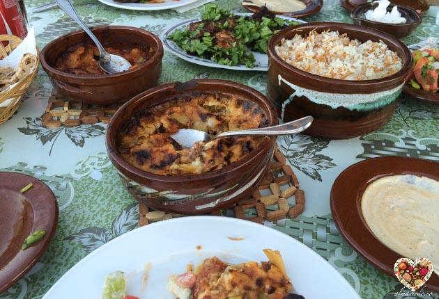 Comida vegana tipica de Egipto