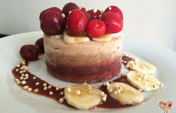 Torta helada receta de pastel vegano y sin gluten