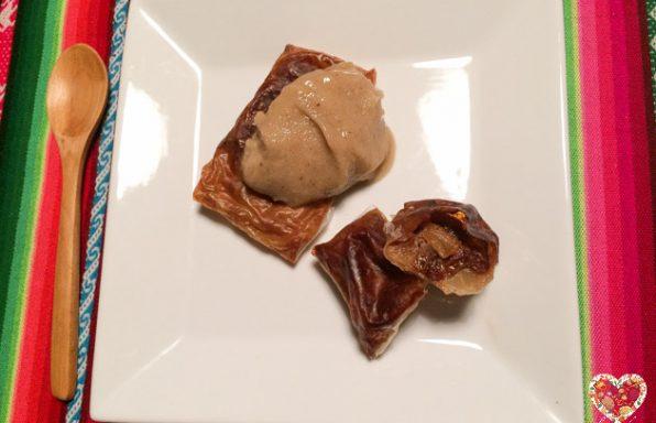 Receta para preparar rollos de manzana veganos y sin gluten
