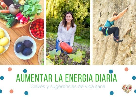 Como aumentar tu nivel de energía diaria