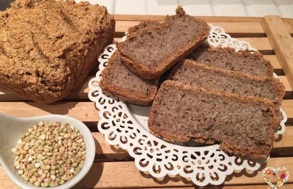 Receta de pan sin gluten de trigo sarraceno sin levadura