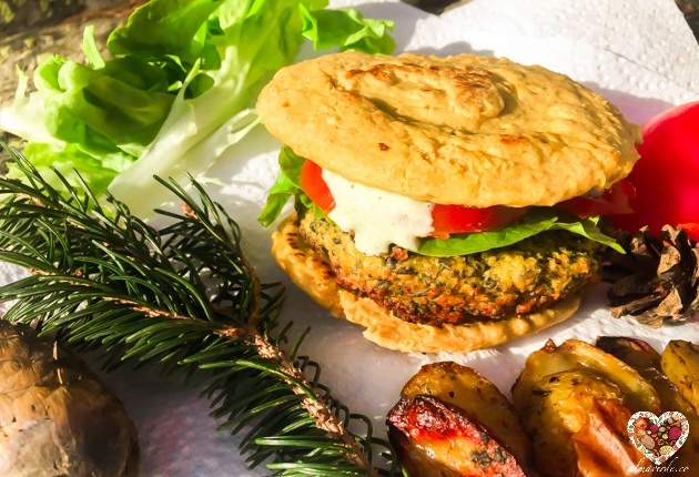 Receta de pan sin gluten ni levadura preparación vegana