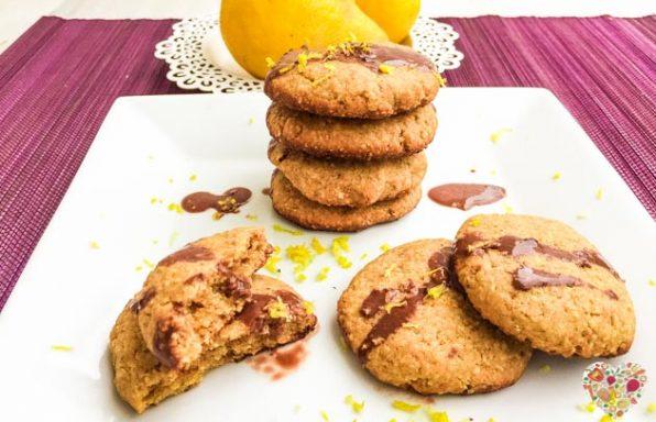 Galletas de limón veganas y sin gluten