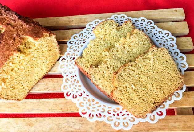 Pan de harina de trigo sarraceno y garbanzos sin gluten