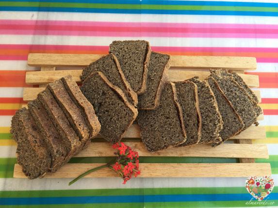 Cómo hacer un pan sin gluten diferente vegano