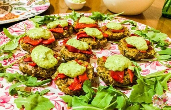 Deliciosas hamburguesas veganas sin gluten de legumbres