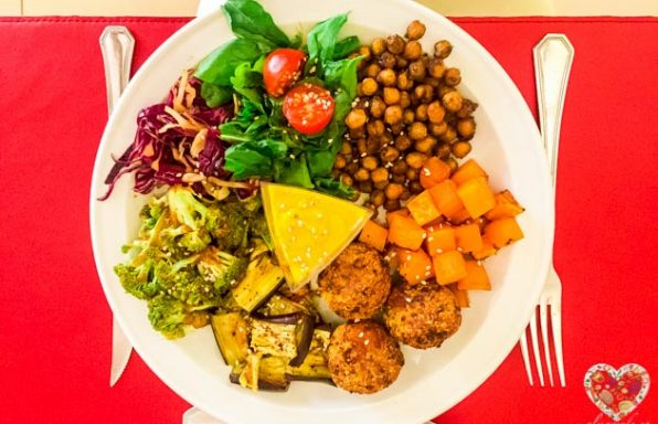 Buda Bowl, cena vegana perfecta